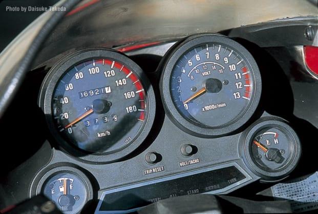 1985 GPZ750R メーター