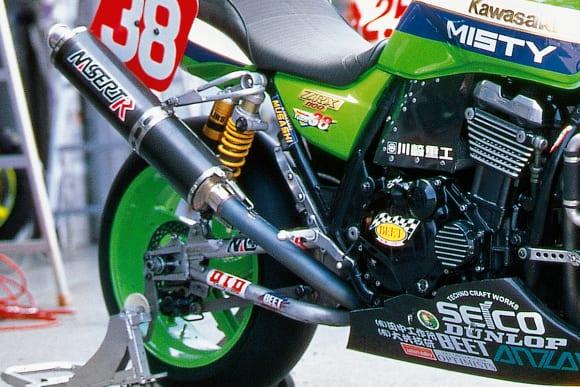 鈴鹿8耐 チーム38・ZRX1100(1998) ビート・ナサートR