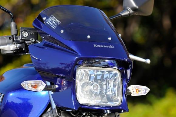 2009年モデル ZRX1200 DAEG ヘッドライト
