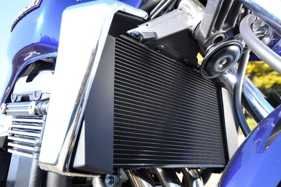 2009年モデル ZRX1200 DAEG ラジエター