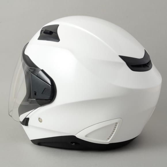 ROM ZEROS(ゼロス)ヘルメット・グラスホワイト背面