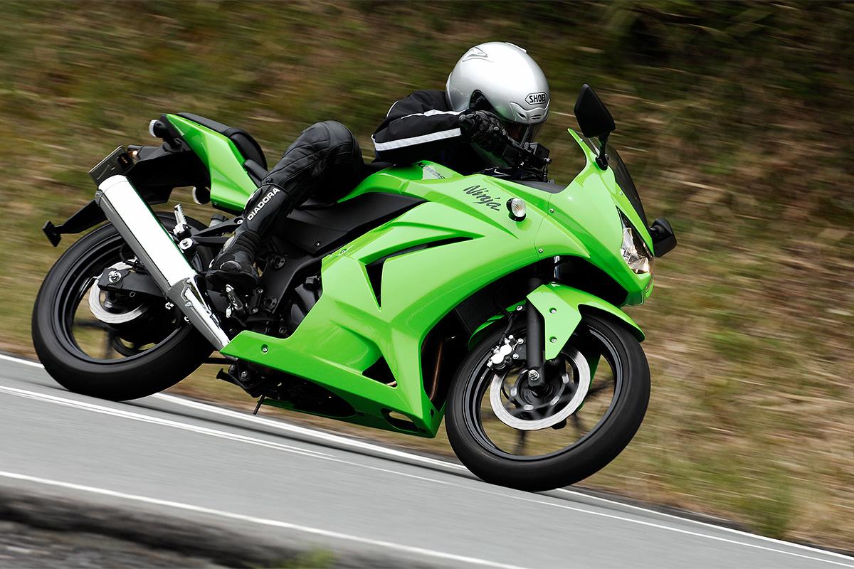 2008年モデル Ninja 250R(EX250K8F) インプレッション