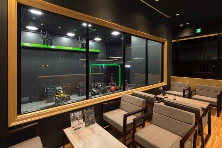 カワサキ プラザ等々力 カフェスペース