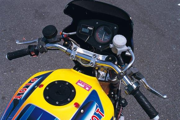 ノジマエンジニアリング ZRX1100 ハンドル