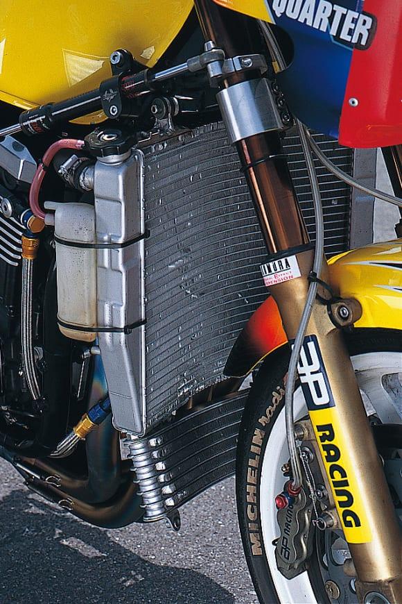 ノジマエンジニアリング ZRX1100 ラジエター