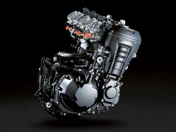 2010年モデル Z1000(ZR1000D) エンジン
