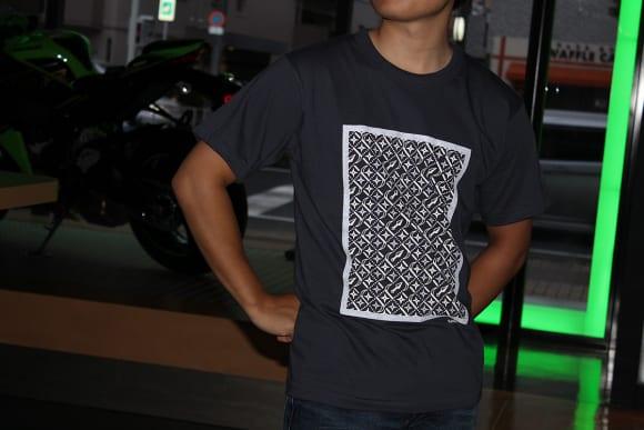 カワサキ デザインTシャツ(忍者)