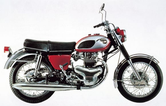 1966年モデル 650W1