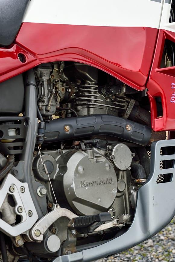 1991年モデル TENGAI(天涯) エンジン