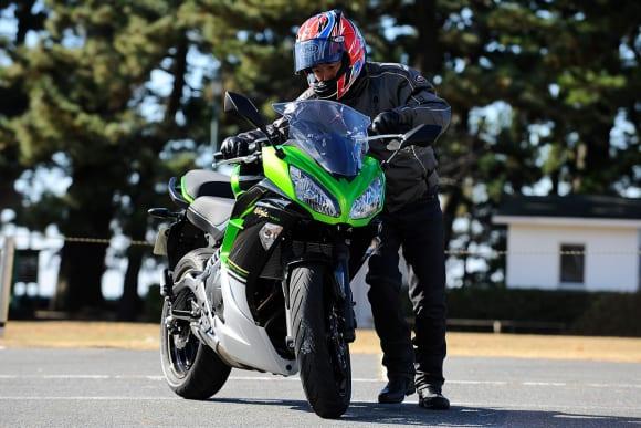 2014年モデル Ninja 400 取り回し
