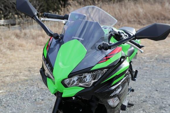 2020年モデル Ninja 650 アッパーカウル