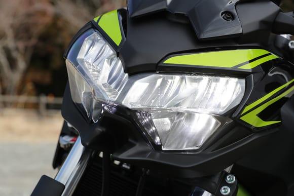 2020年モデル Z650 ヘッドライト