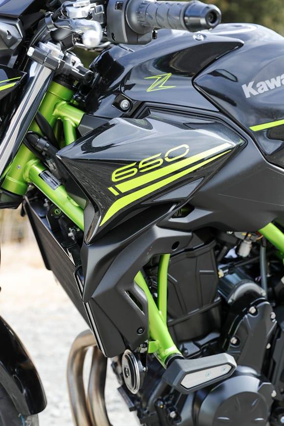 2020年モデル Z650 シュラウド
