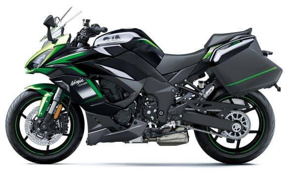 2021年モデル Ninja 1000SX アクセサリー装着車