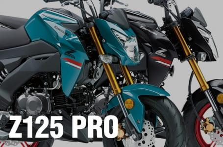 [Z125PRO]2021年モデルは従来からカラーリングとグラフィックを変更。発売は10月1日から