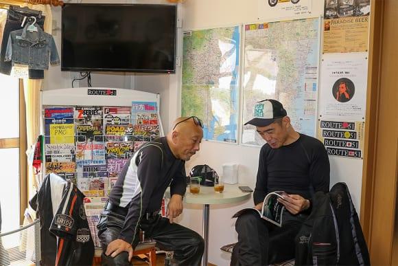 バイクの駅 ROUTE51 休憩スペース