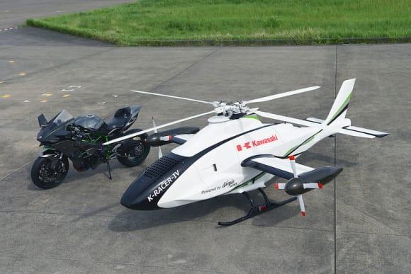 無人コンパウンド・ヘリコプター「K-RACER」の飛行試験に成功