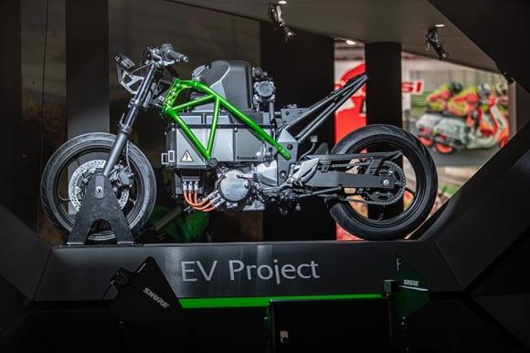 Kawasaki EV Project EICMA2019