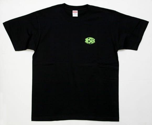 俺たちNinjaが好きだ。Tシャツ グリーン・前面