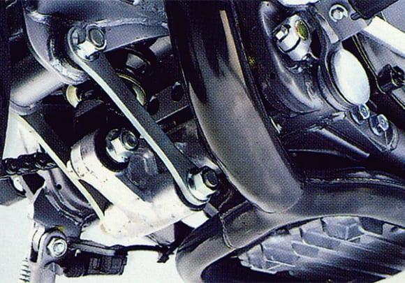 1991年モデル KLE400 メーター