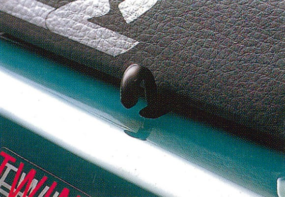 1993年モデル KLE250 ANHELO 荷掛けフック