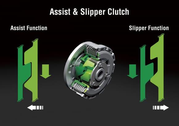 2014年モデル Ninja ZX-6R アシスト&スリッパークラッチ