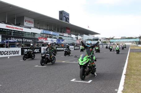 Ninja ZX-25Rデモレースが開催!