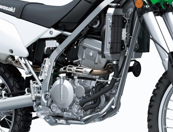 2021年モデル KLX300 エンジン