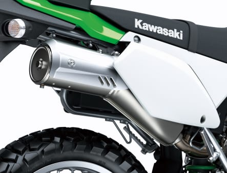 2021年モデル KLX300 マフラー