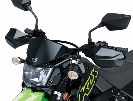 2021年モデル KLX300SM ヘッドライト・ハンドルバー
