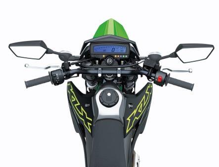 2021年モデル KLX300SM ハンドルバー