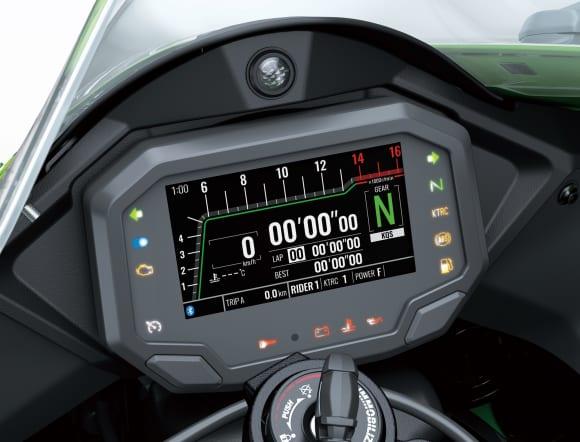 2021年モデル Ninja ZX-10R TFT液晶メーター