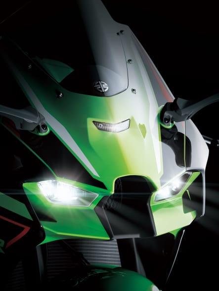 2021年モデル Ninja ZX-10R LEDヘッドライト