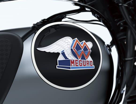 2021年モデル MEGURO K3 エンブレム