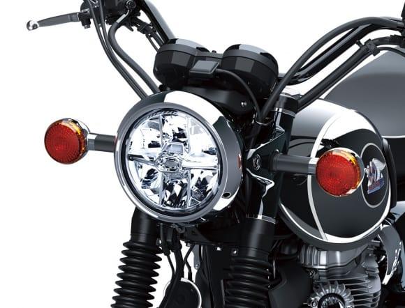 2021年モデル MEGURO K3 ヘッドライト