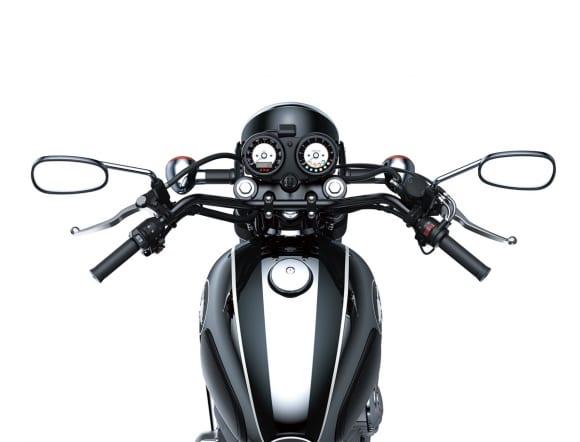 2021年モデル MEGURO K3 ハンドル
