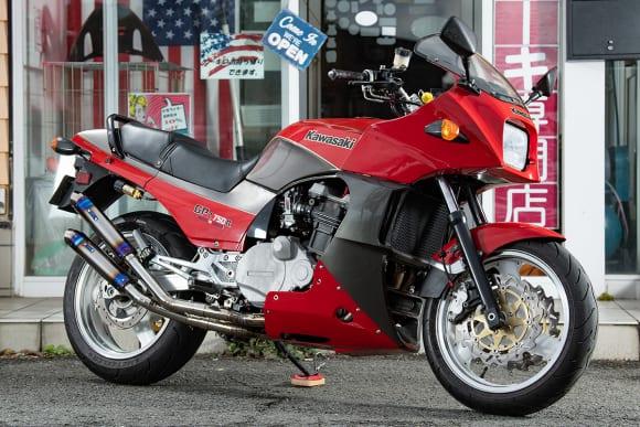 ライダーズカフェ「ルーツ」GPZ750R