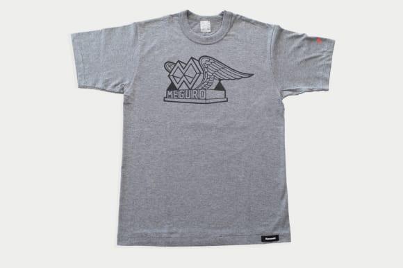 カワサキ ロゴTシャツ(メグロエンブレム)