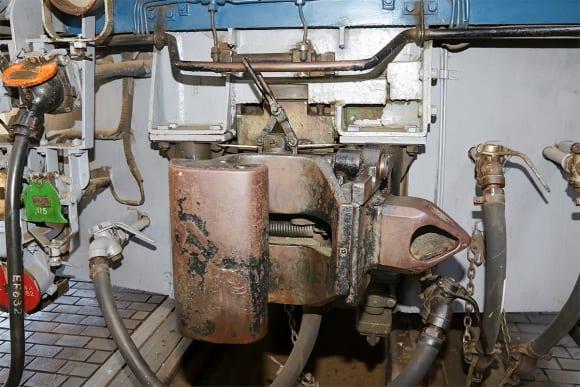 碓氷峠鉄道文化むら 双頭連結器