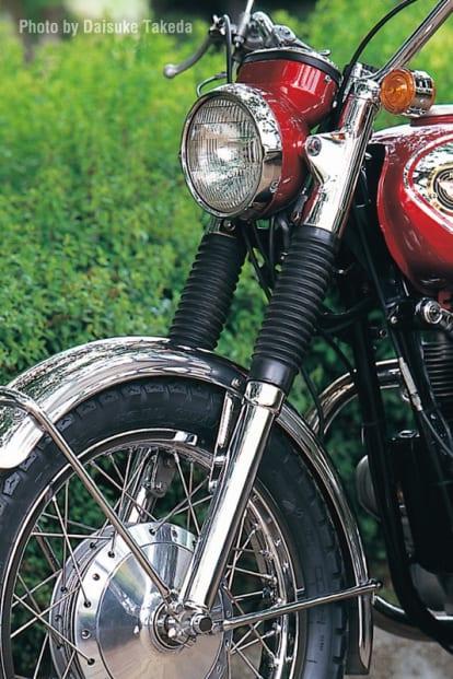 1966 W1 フロントフォーク