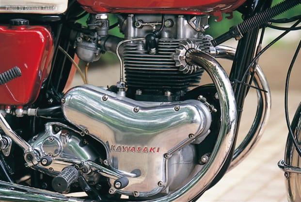 1966 W1 エンジン