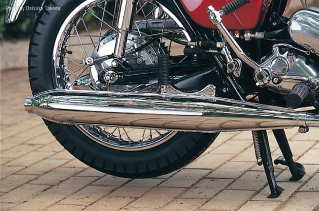 1966 W1 マフラー