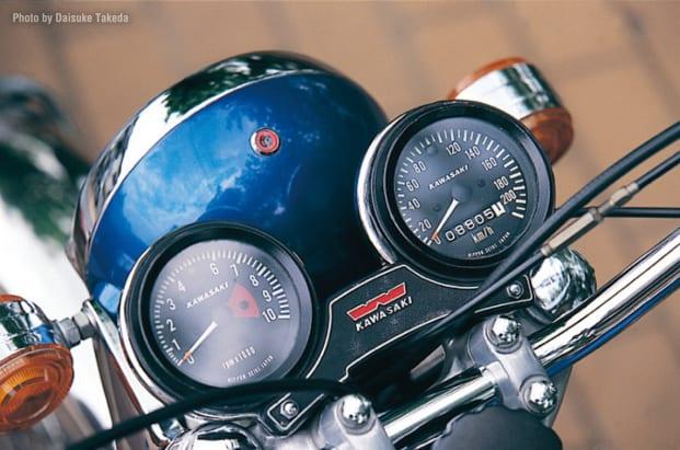 1968 W1S メーター