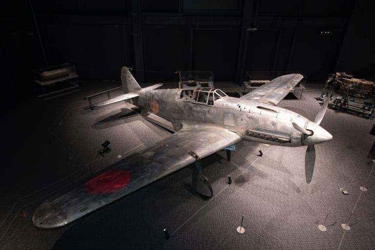 生誕の地で羽を休める、悲運の戦闘機「三式戦闘機・飛燕」