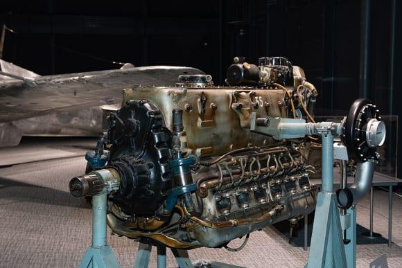 三式戦闘機・飛燕 ハ140エンジン