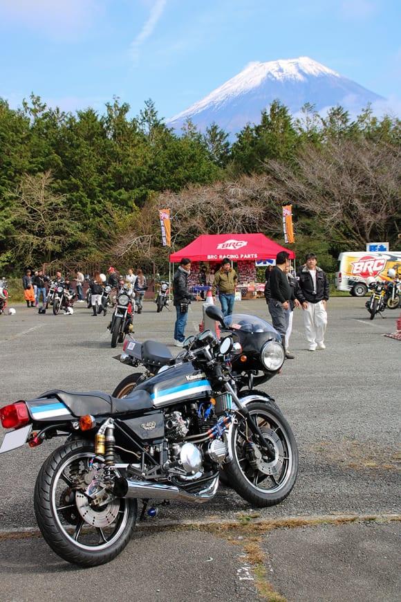 THE Z400FX MTG 富士山