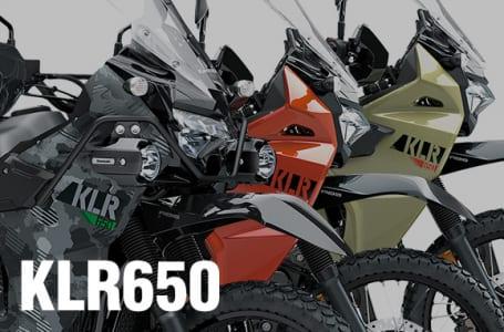 2022年モデル KLR650