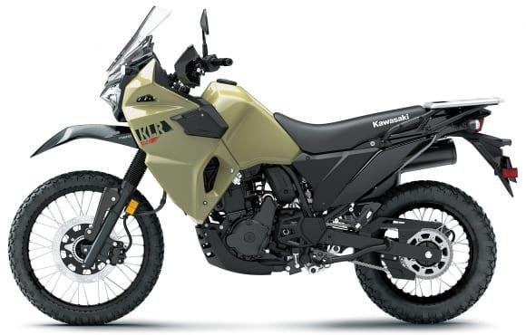 2022年モデル KLR650 パールサンドカーキ