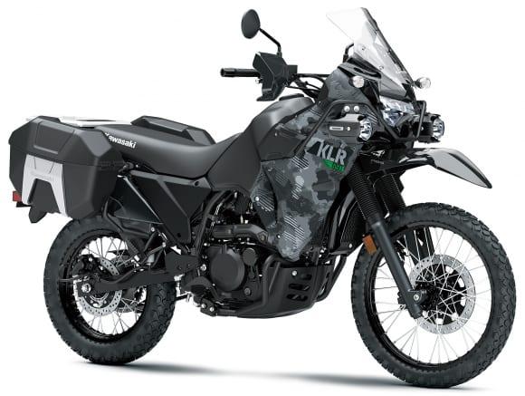 2022年モデル KLR650 ADVENTURE サイファーカモグレー