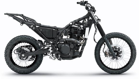 2022年モデル KLR650 フレーム